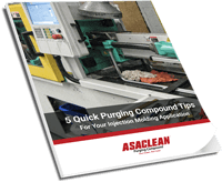 Maximize Injection Molding Machine Uptime With These Five Quick Tips For Using Purging Compounds